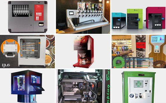 Verschiedene Kundenprojekte aus der Automatentechnik