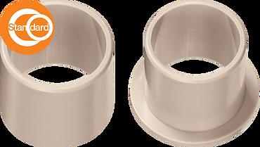 イグリデュールA500、改正食品衛生法対応の無給油ブッシュ, 樹脂すべり軸受