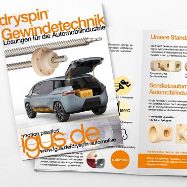 dryspin Automotive Broschüre
