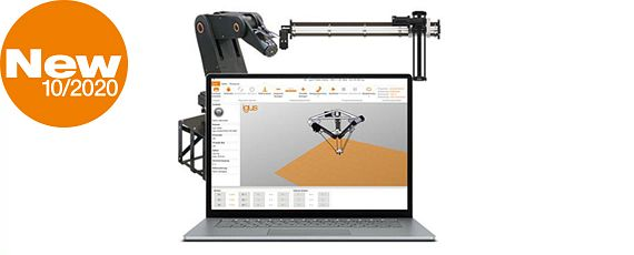 İgus® yazılım ve donanımına sahip robot kontrol sistemi