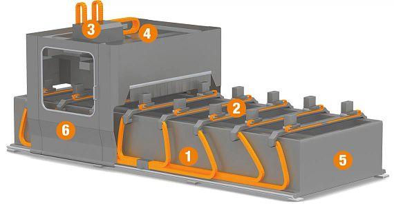 CNC-Holzbearbeitungsmaschine Vorderseite