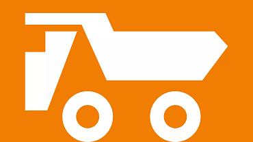 Utility vehicle icon