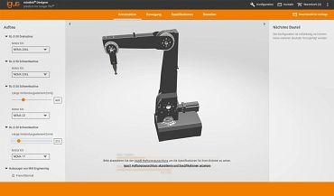 Łatwa konfiguracja ekonomicznych robotów online