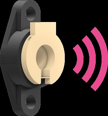 igubal Lagereinsatz mit Sensor