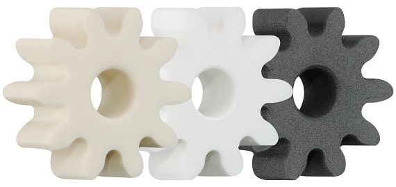 Configure gear with a minimum of eight teeth with free templates