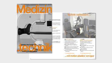 Medizintechnik Broschüre