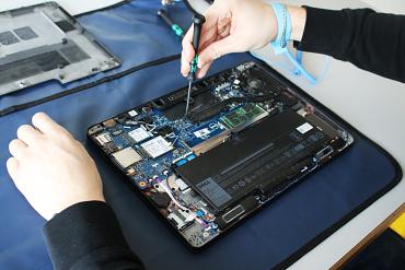 Repair of a laptop