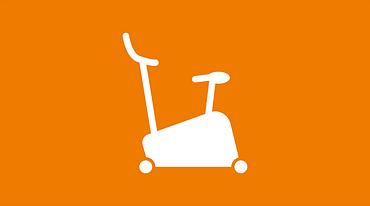 Fitness and rehabilitation icon