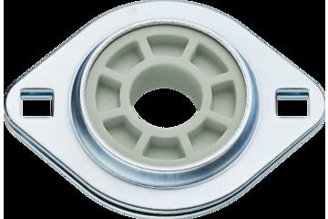 Cojinetes fijos con brida, con 2 agujeros de montaje, PFL, J4EM, igubal®