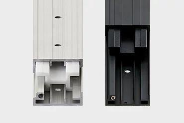 Telescopic rails