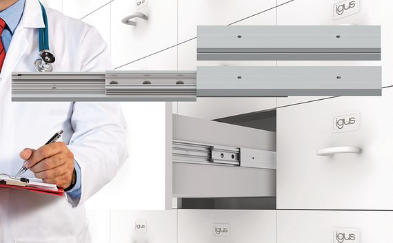extendable NT drawer application