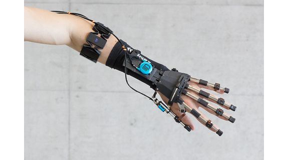 3D printed exoskeleton as an application example