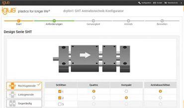 Skonfiguruj moduły liniowe online