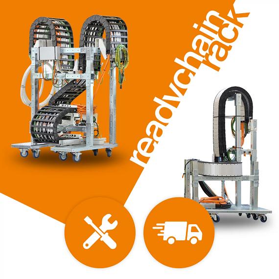 Montageoptimierte Anlieferung mit dem readychain® rack