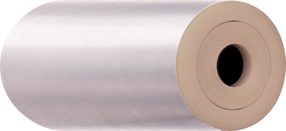 Temperature-resistant xiros® guide roller made of stainless steel