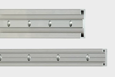 drylin® N low profile guide system for linear applications with compact installation space