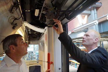 chainflex Leitungen in der Bahntechnik