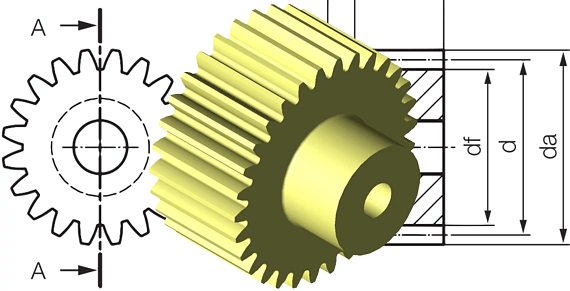 Configure your gears easily with the igus gear configurator