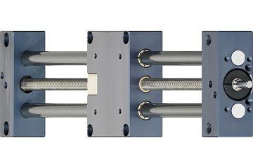 drylin® SHT-12 Linearmodul mit Trapezgewinde
