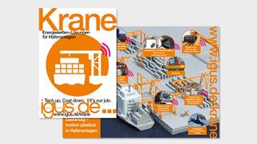Broschüre: Energiekettensysteme für Krane