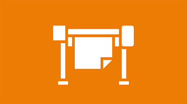 Printing technology icon