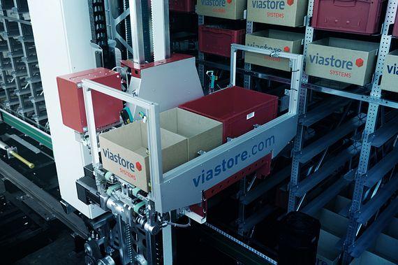 Systèmes viastore avec chainflex