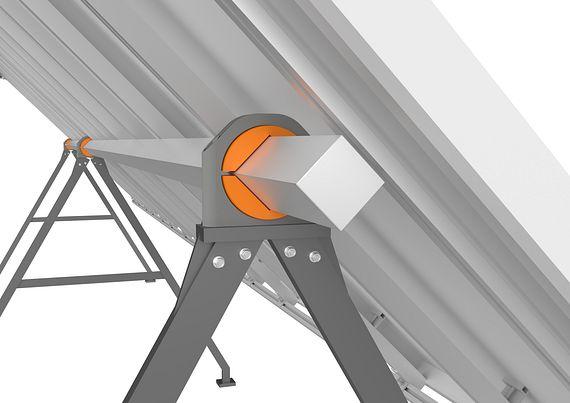 Solar pillow block bearings
