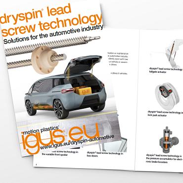 dryspin automotive brochure