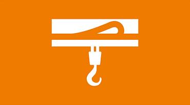 Indoor crane icon