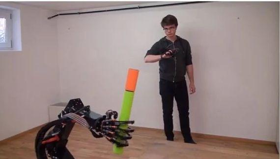 Le lauréat 2020 du prix Low Cost Automation Roibot