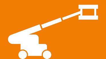 Work platform icon
