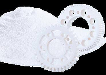 Laser sintering, food-compatible 3D printing, food-safe
