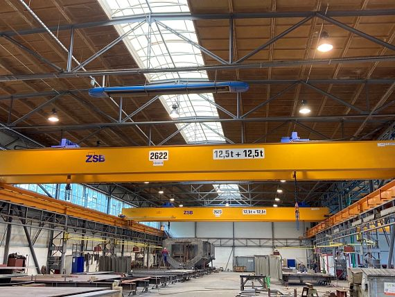 Indoor crane