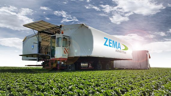 Harnessed readycable in ZEMA harvesting machines