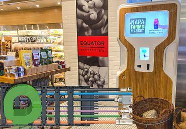 Nachhaltiger Getränkeautomat Drop Station