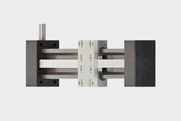Toothed belt axis with compact type