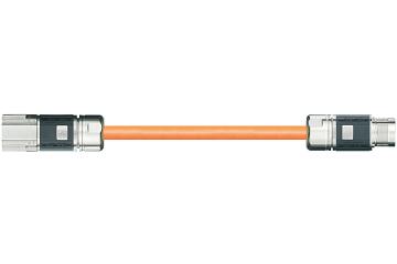 readycable® Hybrid-Servoleitung, passend zu Siemens 6FX_002-8QE21 Verlängerungsleitung, PUR 10 x d