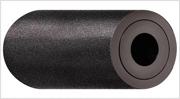 Sandblasted xiros® aluminium guide roller