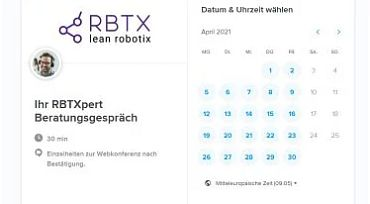 RBTX Beratung Termin