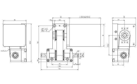 Gantry drive 1660 System von igus