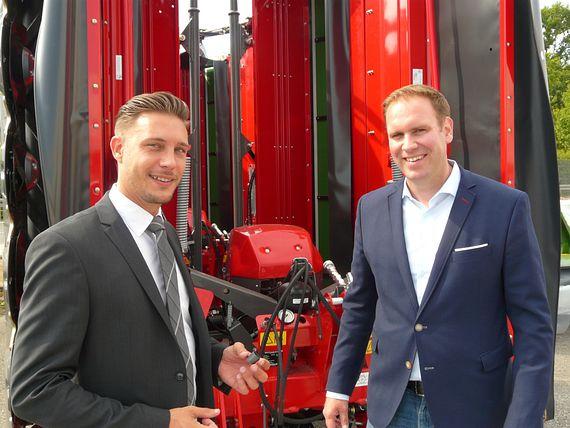 Director Supply Chain der AGCO Feucht GmbH und technischer Verkaufsberater von igus im Gespräch