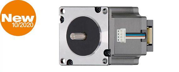 Yerden tasarruf sağlayan artırımlı açısal kodlayıcısı bulunan kademe motoru