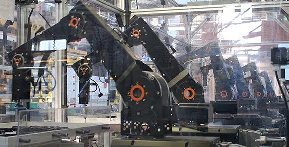 Prozesserhöhung mit Robotern