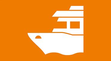 Shipbuilding industry icon