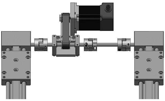 Platzsparendes Antriebssystem für Portalroboter von igus