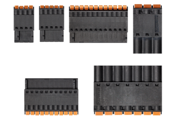 drylin® E set of replacement plug-in connectors