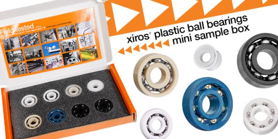 xiros plastic ball bearing sample