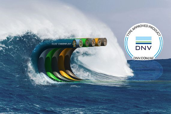 chainflex cables DNV approval