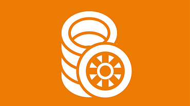 Tyre production icon