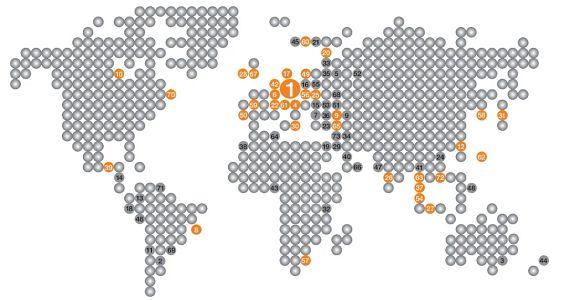 igus weltweit